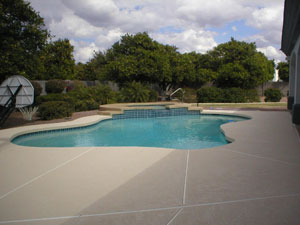 Pool deck resurfacing for homes in phoenix scottsdale for Pool resurfacing phoenix az