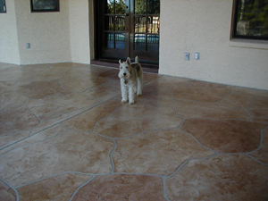 Concrete Stain Services For Homes In Scottsdale Phoenix